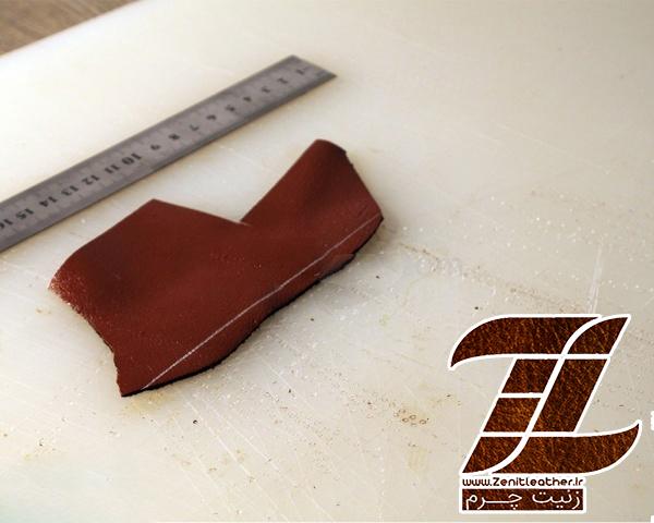 خط کش فلزی کار با چرم