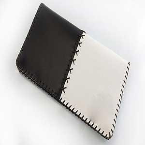 1 2 - کیف چرم طبیعی دو رنگ دست دوز زنانه Z55
